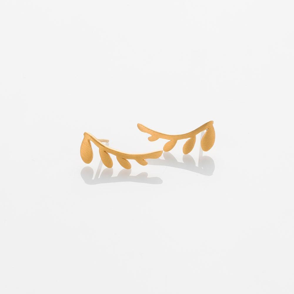 E18007-G Chloe σκουλαρίκια L χρυσά