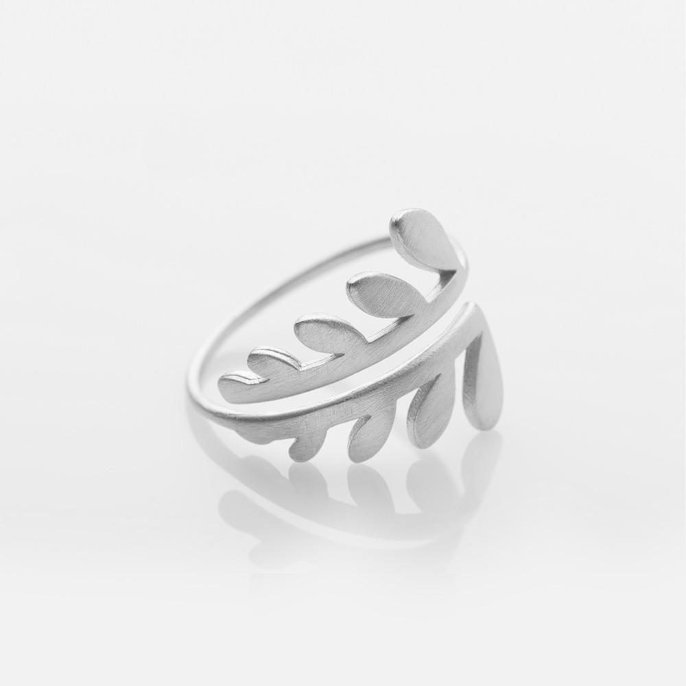 R15005 Chloe δαχτυλίδι ασημί Ν medium