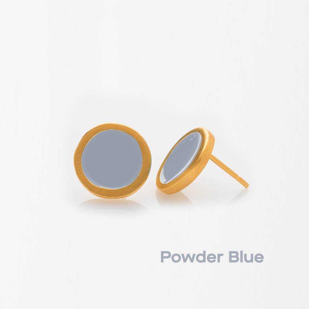 E11017-182 Palette S σκουλαρίκια χρυσά