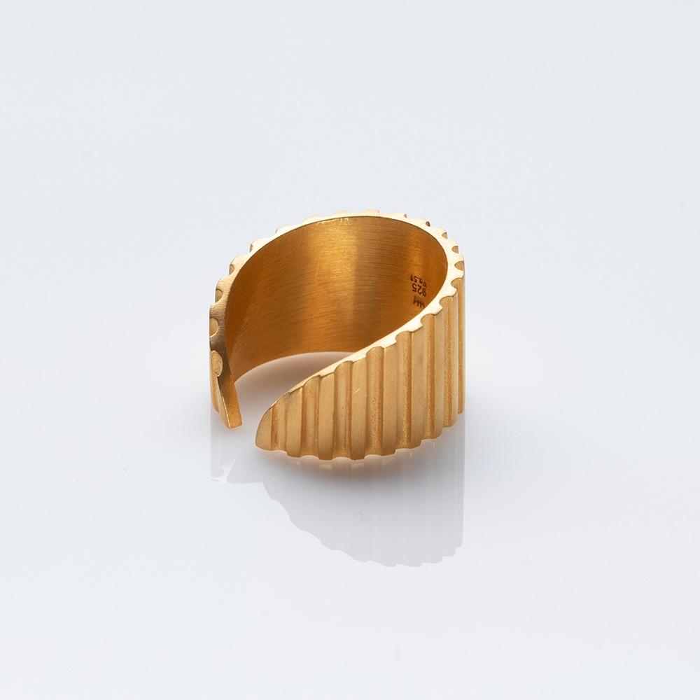 R19004 Gloria δαχτυλίδι χρυσό N large