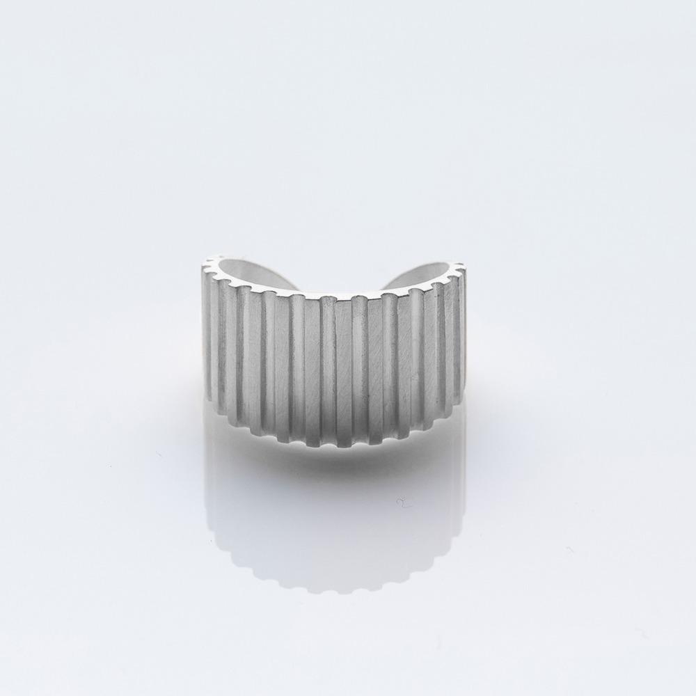 R19003 Gloria δαχτυλίδι ασημί N large