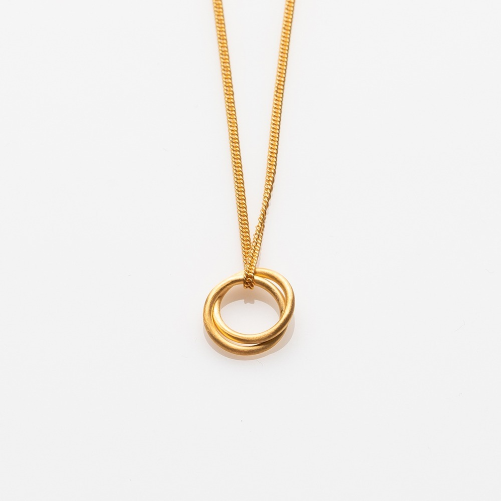 N19024 Gang κολιέ χρυσό