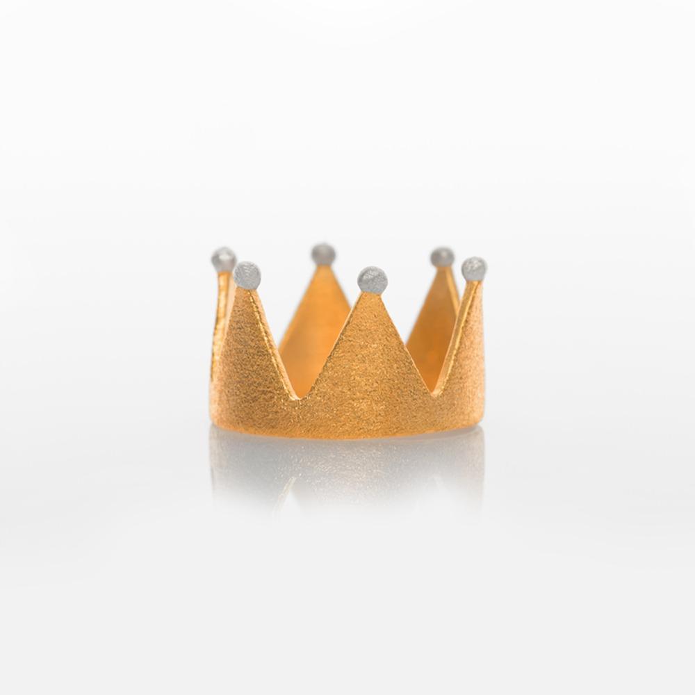 R11003 Κορώνα δαχτυλίδι χρυσό N55