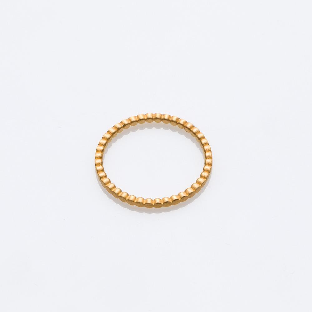 R18011 Blob δαχτυλίδι χρυσό 57