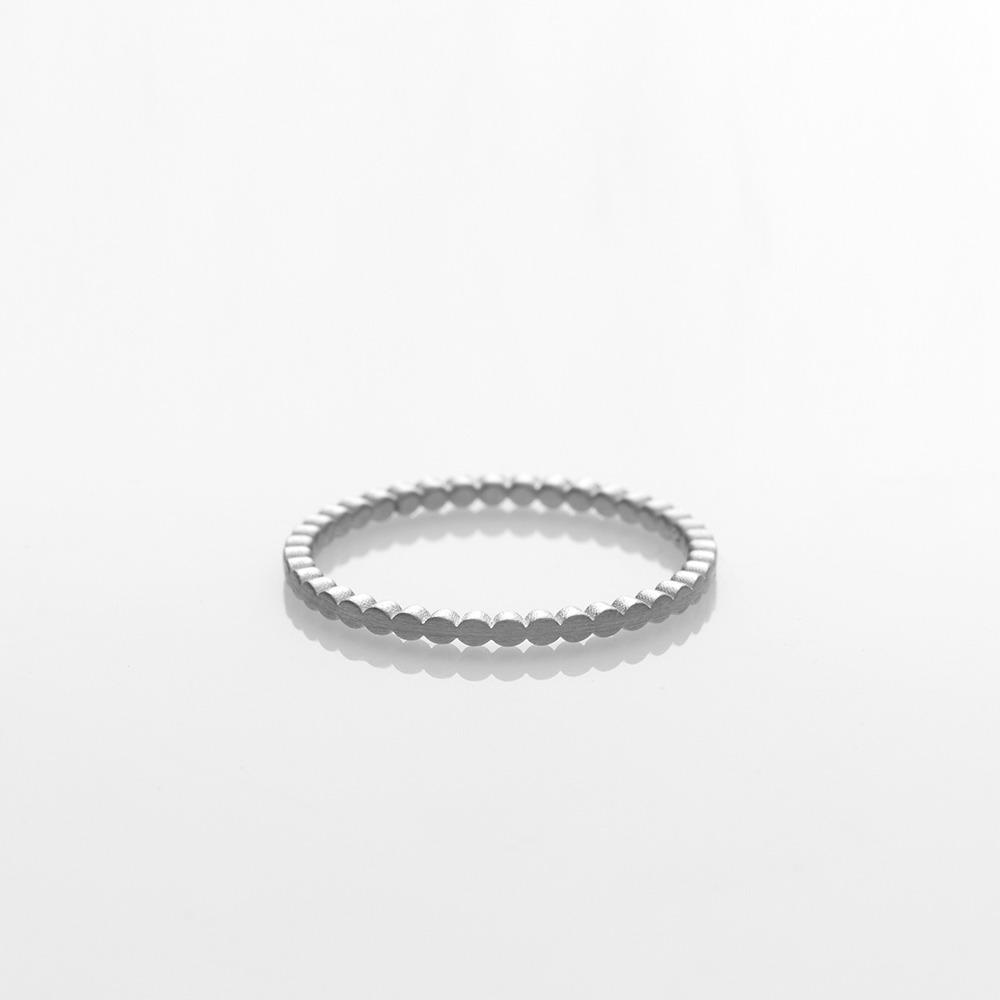 R18010 Blob δαχτυλίδι ασημί N57